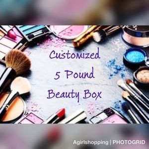 Other - Customized 5lb Mystery Beauty Bundle/Box Makeup
